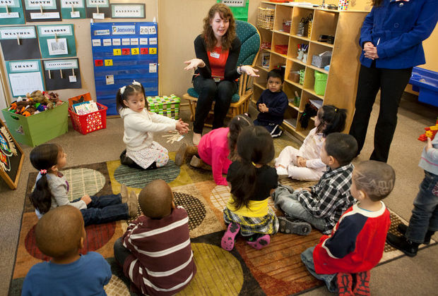 Collaborative Classroom Employment ~ Elnc s first 'little school opens to get vulnerable grand